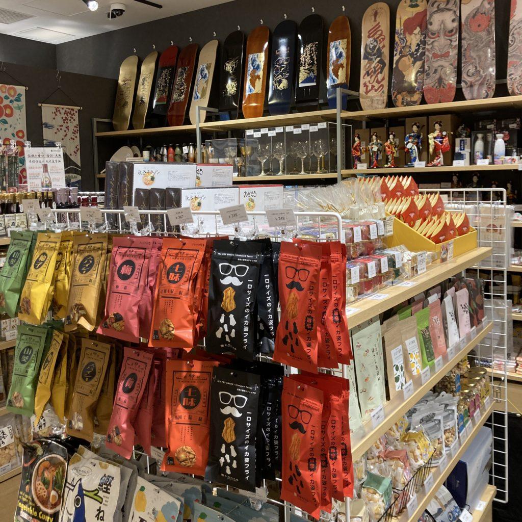 クロスゲート金沢お菓子
